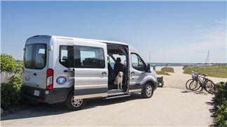 Beach Bus at Nantucket
