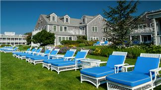 White Elephant Harbor Lawn with Chaise Lounges West