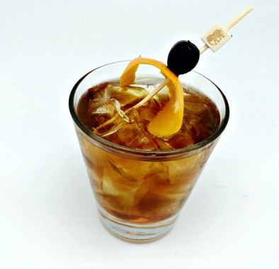 BPG Smoked Makers Mark Coctail