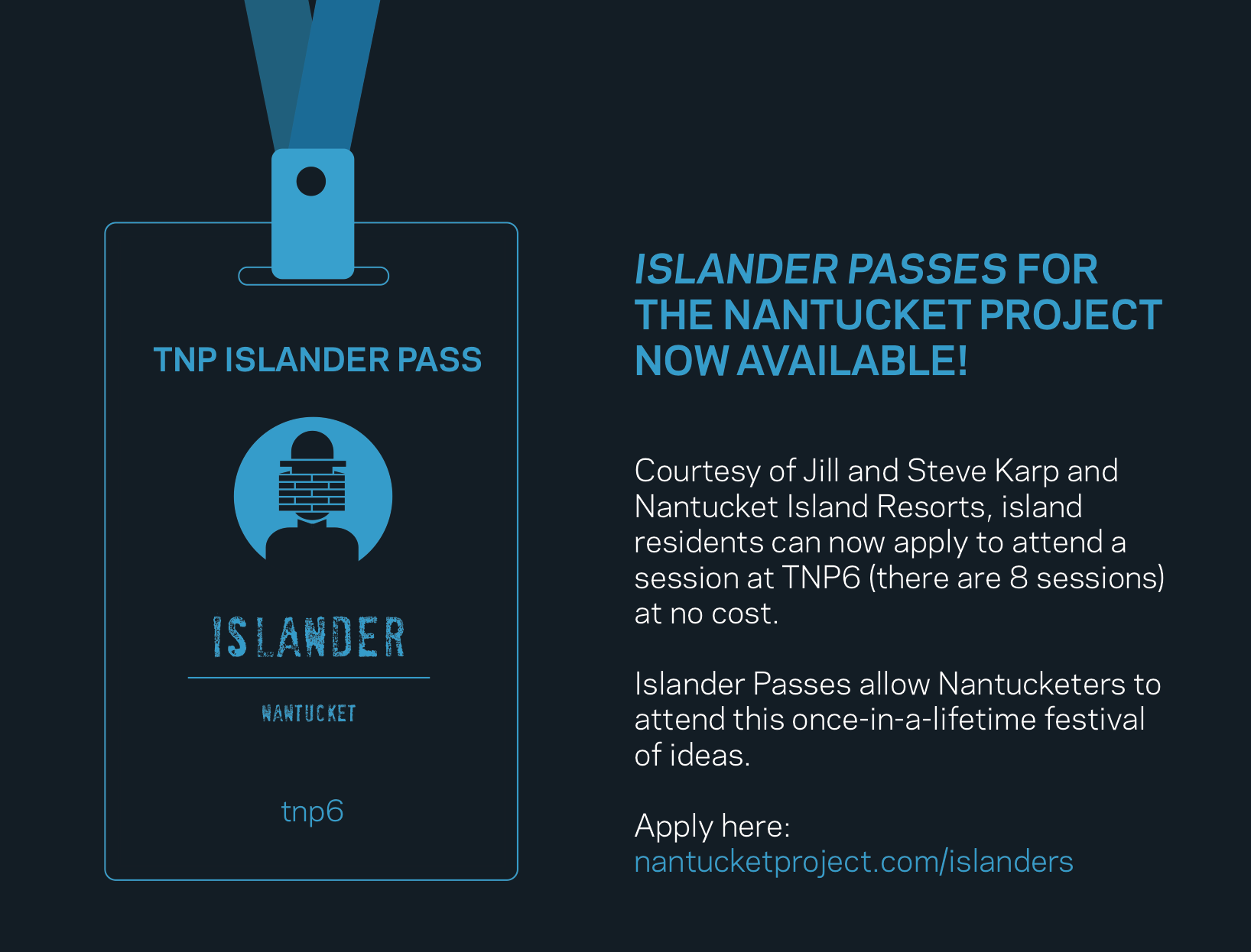 nantucket project islander pass