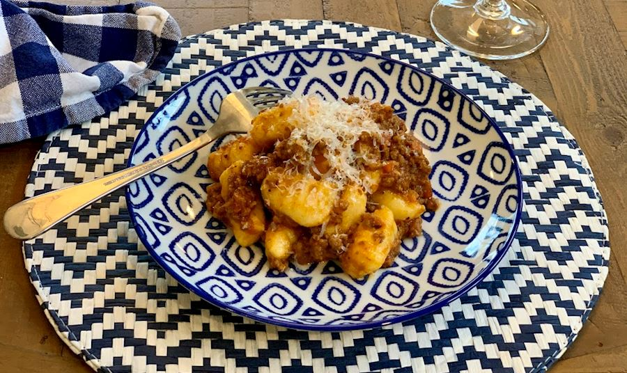 Gnocchi Bolognese Recipe from Chef Kyle Zachary of TOPPER's