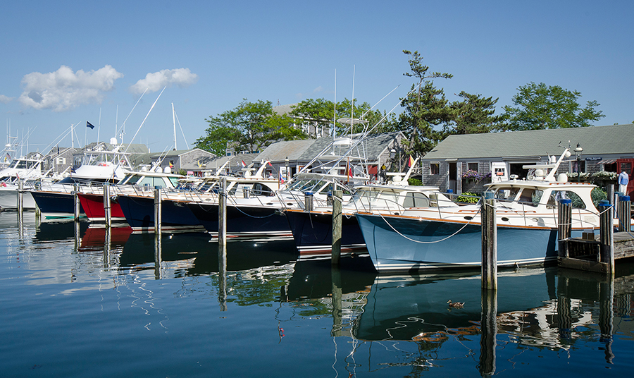 Hinckley Yachts Rendezvous at Nantucket Boat Basin