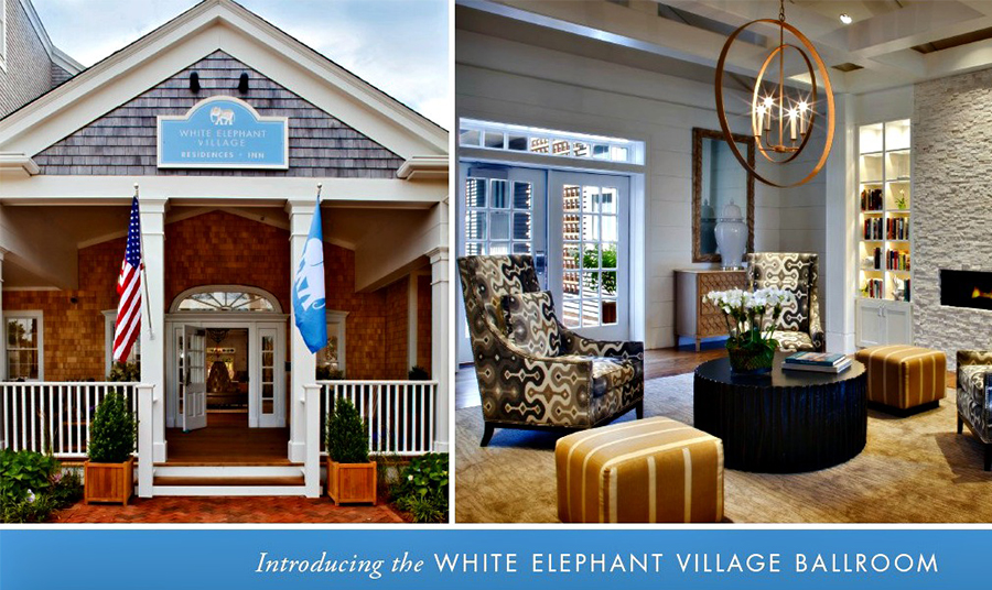 New Ballroom & Conference Center at White Elephant Village