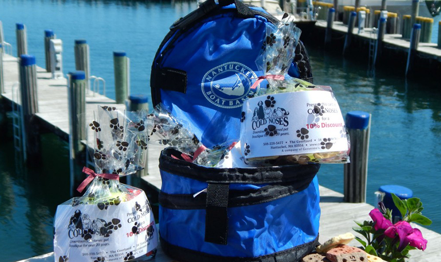 WOOF Welcome Bags at the Boat Basin