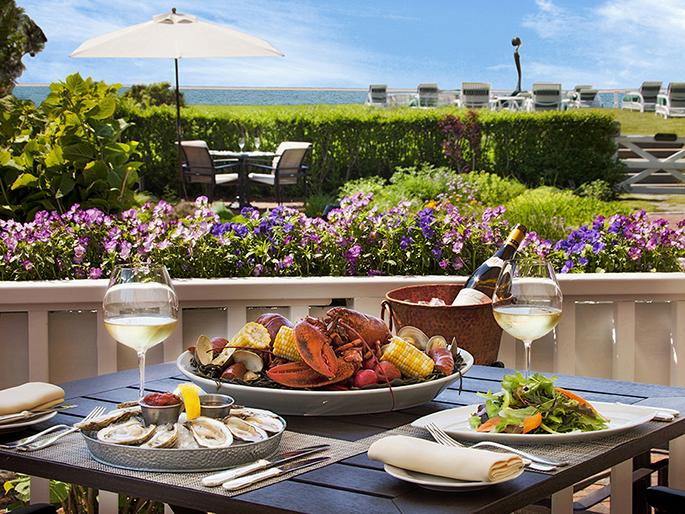 Dining Facilities at Nantucket Island Resorts, Massachusetts