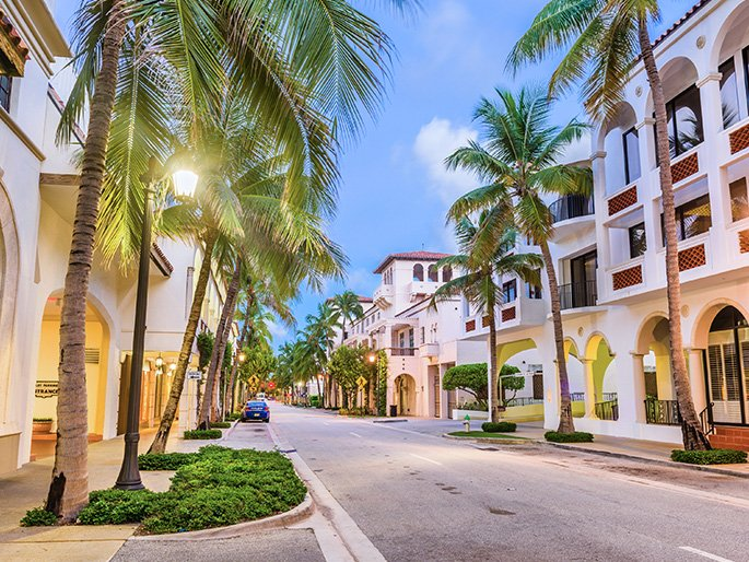 Getting Here to Palm Beach, Florida