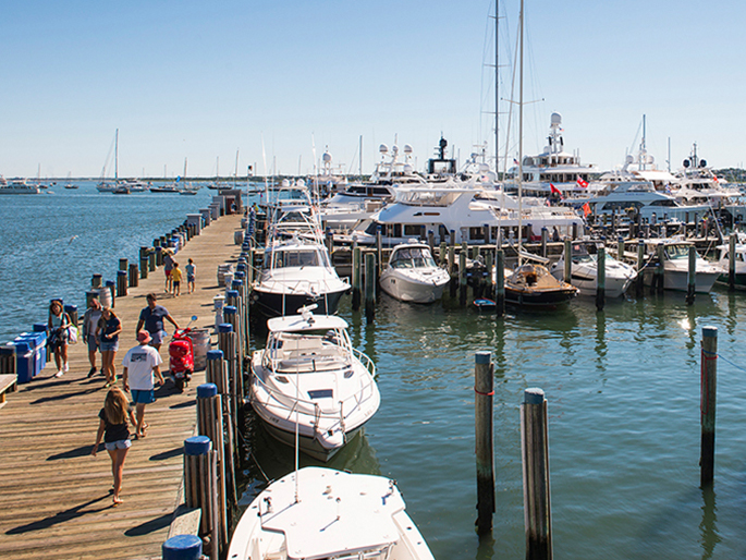 Nantucket Island, Massachusetts Marina