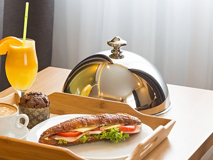 Room Service available at White Elephant Palm Beach