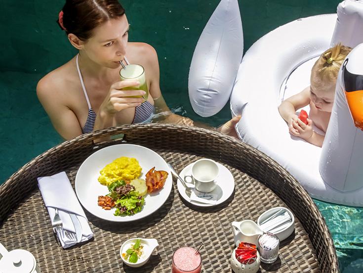 White Elephant Palm Beach offers Poolside Eats