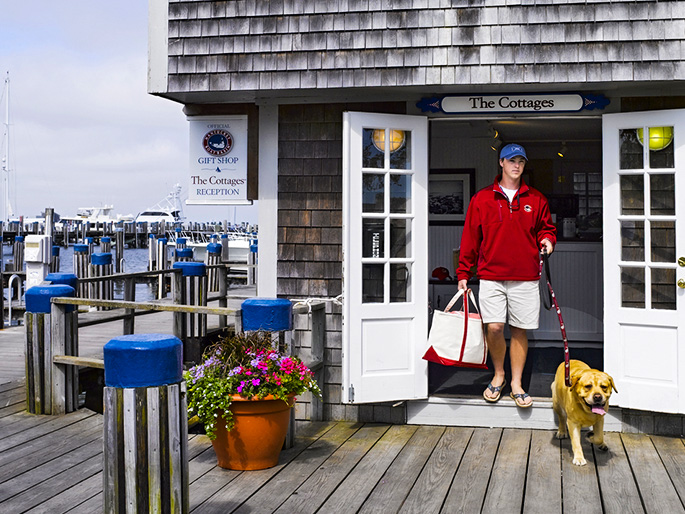 The Cottages at the Boat Basin Gallery, Nantucket