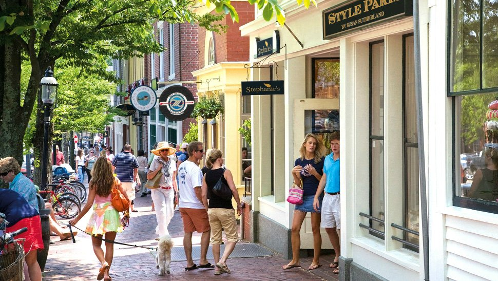 Shopping Facilities in Nantucket Island, Massachusetts
